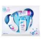 全新 德國施巴Sebamed pH5.5 嬰兒大四件禮盒(泡泡浴露+潤膚乳液+洗髮乳+護膚膏)