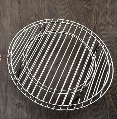 304不銹鋼加大蒸架家用廚房低腳電飯煲隔熱水盤墊高壓鍋小篦籠屜