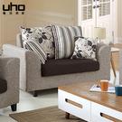 沙發【UHO】夏洛特雙人沙發 免運費 HO18-357-2