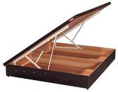 收納 掀床架 安全設計 免費組裝 Johnson喬森6尺雙人六分側掀床/三色 / H&D東稻家居