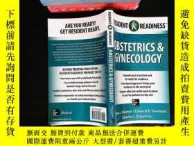 二手書博民逛書店Resident罕見Readiness Obstetrics and GynecologyY167411 De