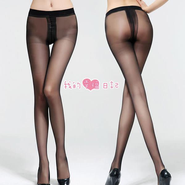 性感絲襪 酷愛熱潮‧包芯絲T檔絲襪(黑) 樂樂