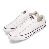 Converse Chuck Taylor All Star 白 藍紅線 低筒 帆布鞋 基本款 情侶鞋推薦款式 男鞋 女鞋【ACS】 M7652C