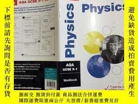 二手書博民逛書店Collins罕見AQA GCSE 9-1 Revision physics Workbook 柯林斯AQA GC