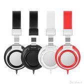 Sound Intone I8耳機頭戴式 音樂手機有線耳麥帶麥筆記本電腦游戲  one shoes