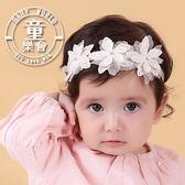 髮帶 寶寶 嬰兒 蕾絲 花朵 網紗 歐美 髮飾 BW