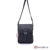 beside u BNUA超輕量金屬磁扣手機包側背包 – 黑色 原廠公司貨