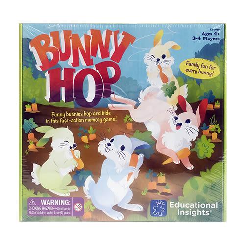 美國【Educational Insights】兒童益智桌遊 - 彈跳兔兔