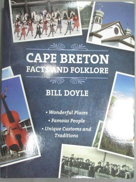 【書寶二手書T1/歷史_LOK】Cape Breton Facts and Folklore_Bill Doyle