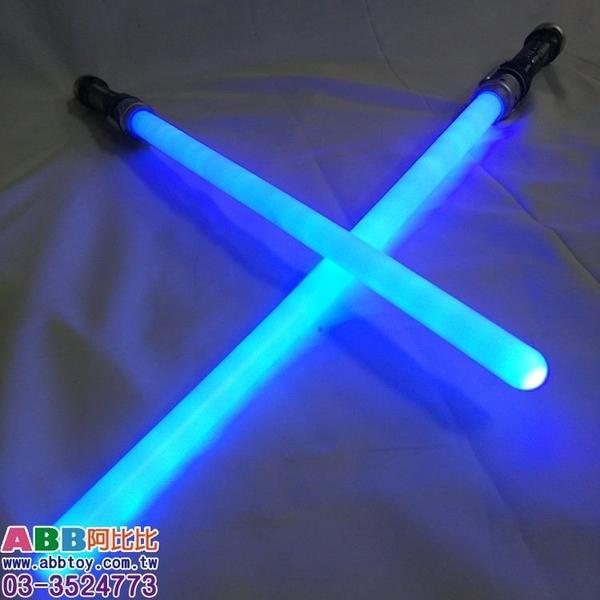 A0279_LED光劍_藍光_2入_有音效_2把合體132cm#螢光棒閃光棒發光棒LED棒夜光棒發光玩具LED玩具
