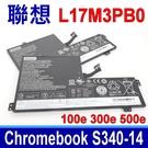 LENOVO L17M3PB0 電池 100e 300e 500e Chromebook C340-11 5B10W52017 5B10W67251 5B10W67369 Flex 3