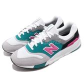 New Balance 復古慢跑鞋 997 NB 灰 粉紅 麂皮鞋面 運動鞋 男鞋 女鞋【PUMP306】 CM997HZHD