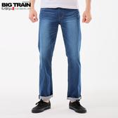 BigTrain加大薄彈天絲棉直筒褲-男-深藍-38~46