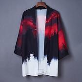 日系和風羽織七分袖中國風道袍夏季防曬衣和服開衫男女學生外套潮 【ifashion·全店免運】