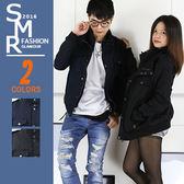 軍裝外套-韓風軍裝外套-軍裝立領保暖款《9996216》黑色.藍色【現貨+預購】『SMR』