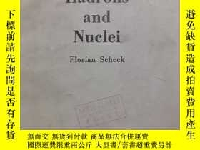二手書博民逛書店leptons,hadrons罕見and nuclei( :H1