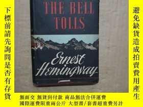 二手書博民逛書店民國外文版:For罕見whom the bell tolls (