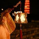 新年燈籠手提發光古風元宵兒童 diy手工制作材料包中國風春節宮燈 怦然心動