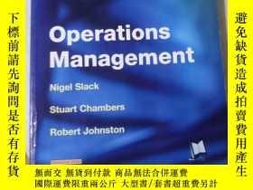二手書博民逛書店Operations罕見Management (3rd Edit
