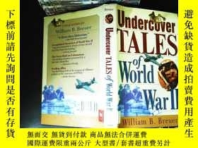 二手書博民逛書店Undercover罕見Tales of World War I