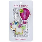 【美國 Lily & Momo】手工童趣髮飾- 自由熱汽球 #HCA351