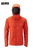 【速捷戶外】英國 RAB QWF-61 Downpour Jacket 男高透氣連帽防水外套(爆竹橘),登山雨衣,防水外套