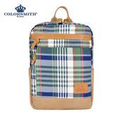 【COLORSMITH】LPC・方形後背包-經典綠格紋・LPC1374-CH