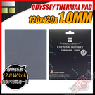 [ PCPARTY ] 利民 Thermalright ODYSSEY THERMAL PAD 120x120x1.0mm 散熱片