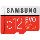 Samsung 三星 EVO Plus 512GB microSDXC 記憶卡 (MB-MC512GA/APC)