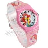 Disney 迪士尼 華特 小美人魚 童話公主 卡通手錶 兒童手錶 粉紅 D小美人魚小P3