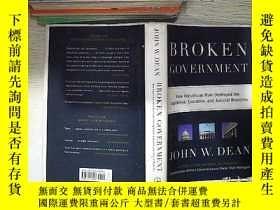 二手書博民逛書店Broken罕見Government 破碎的政府Y261116