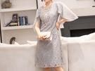 (45 Design) 連衣裙禮服長洋裝短袖洋裝連身裙婚禮洋裝蕾絲洋裝雪紡洋裝套裝長袖洋裝2