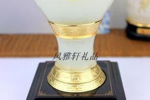 四季平安 琉璃花瓶