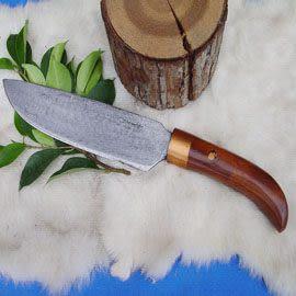 郭常喜與興達刀具--郭常喜限量手工刀品-大獵刀(A0036)