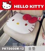 車之嚴選 cars_go 汽車用品【PKTD006W-12】Hello Kitty 經典皮革系列 座椅舒適坐墊