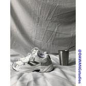 運動鞋男秋冬季新款韓國CHIC韓版簡約小白鞋反光運動跑步鞋