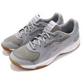 Asics 羽球鞋 Upcourt 2 銀 白 2代 輕量 透氣 運動鞋 女鞋【PUMP306】 B755Y-9693