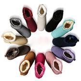 內增高雪靴女短筒韓版百搭學生冬季加絨保暖加厚棉鞋子2019新款