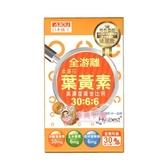 日本味王 金盞花葉黃素晶亮膠囊 (500毫克/粒,30粒/盒) 游離型葉黃素+玻尿酸 【聚美小舖】