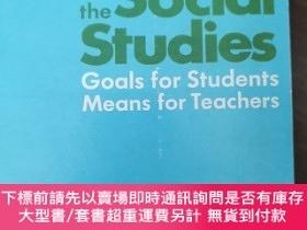 二手書博民逛書店New罕見Frontiers in the Social Studies -- 1. Goals for Stud