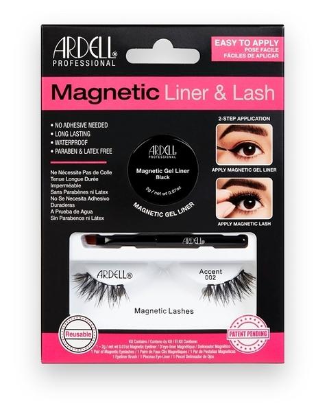 ARDELL 磁吸式眼線假睫毛組_Accent 002 (眼尾加長魅力款)