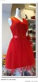(45 Design高雄實體店面) 現貨零碼-極速出貨-特賣出清 大尺寸 小尺寸洋裝 短禮服 媽媽服伴娘 S142