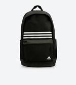 Adidas 經典三條線黑色大容量後背包-NO.DT2616