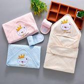 新生兒包被夏季薄款初生嬰兒裹巾純棉春剛出生寶寶抱被包單帶帽蓋 英雄聯盟
