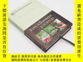 二手書博民逛書店家庭園藝日記記事本罕見RHS Allotment Journal : The expert guide to a