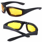 戶外自行車騎行眼鏡CS戰術防護眼鏡摩托車風鏡/泡棉眼鏡【韓衣舍】