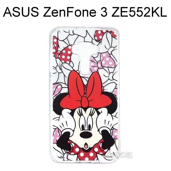 迪士尼空壓氣墊軟殼 [主題] 米妮 ASUS ZenFone 3 (ZE552KL) 5.5吋【Disney正版授權】