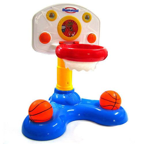 【奇買親子購物網】Baby Music 趣味聲光籃球架