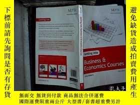 二手書博民逛書店getting罕見into businessY180897