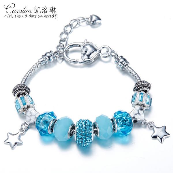 《Caroline》★【善念】潘朵拉琉璃珠.優雅時尚品味典雅設計手鍊68757